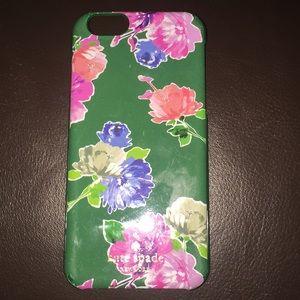 Kate spade flower print iPhone 7 case